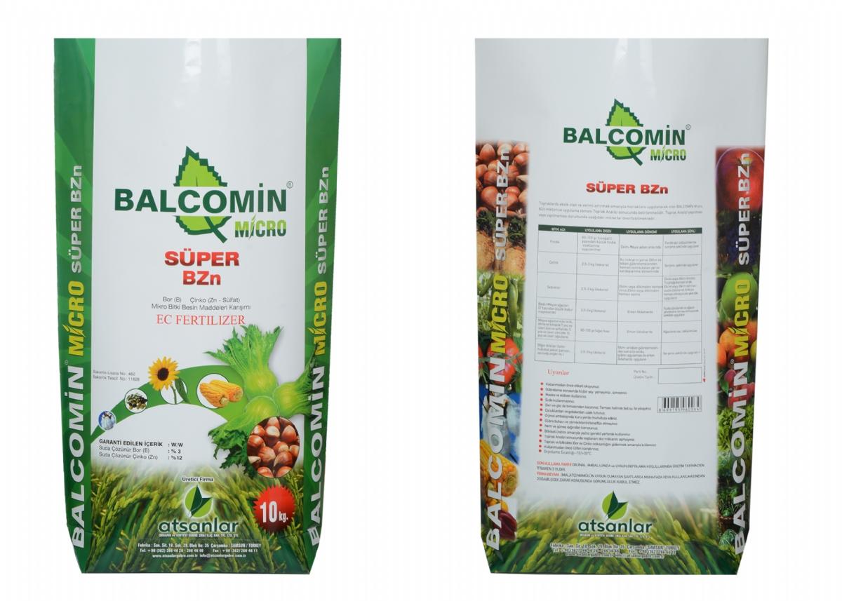 Balcomin Micro Süper ( B ) % 3 - (Zn) % 12