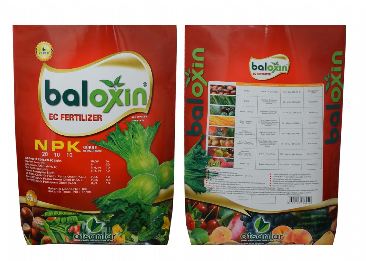 Baloxin ( N ) %20 - ( P ) %10 - ( K ) %10