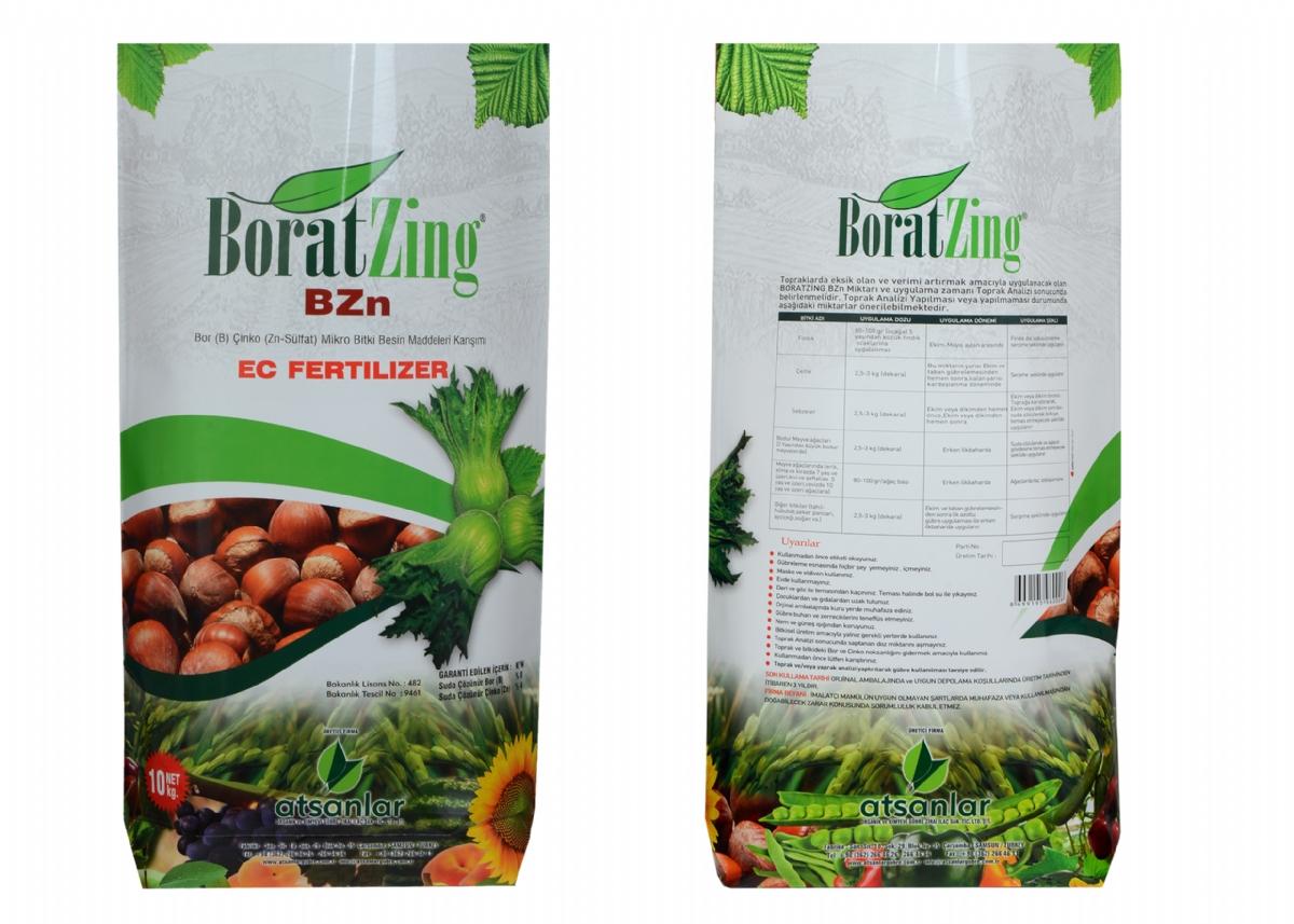Boratzing ( B ) % 8 - ( Zn ) % 4